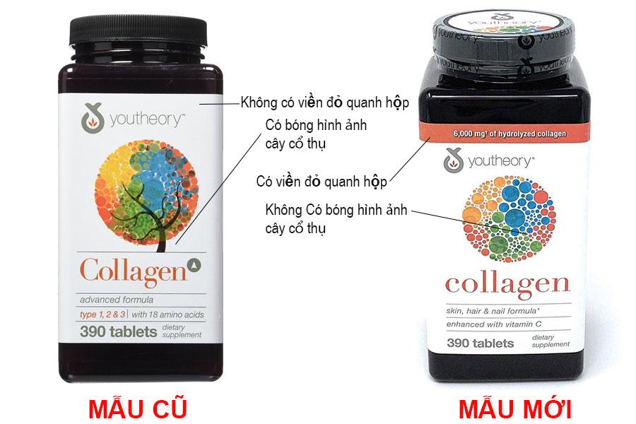 Viên Uống Collagen Youtheory 390 viên