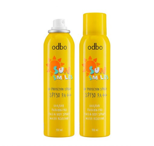 ODBO SUN SMILE UV PROTECTION SPRAY SPF50/PA++ 3