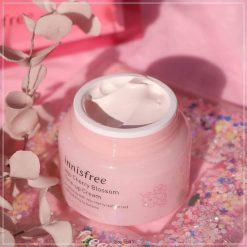 Kem Dưỡng Nâng Tông Da Innisfree Jeju Cherry Blossom Tone Up Cream 5