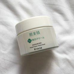 Kem Dưỡng Da Mụn Kracie Hadabisei Facial Cream (50g) 7