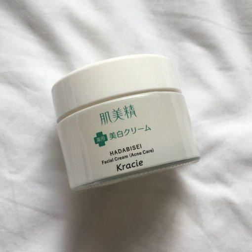 Kem Dưỡng Da Mụn Kracie Hadabisei Facial Cream (50g) 5