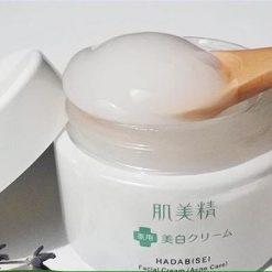 Kem Dưỡng Da Mụn Kracie Hadabisei Facial Cream (50g) 6