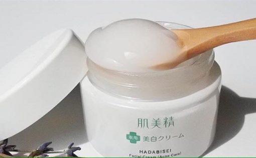 Kem Dưỡng Da Mụn Kracie Hadabisei Facial Cream (50g) 4