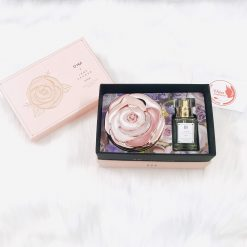 Set Phấn Nước + Nước Hoa Ohui Ultimate Cover Moisture Cushion Jane Packer Edition
