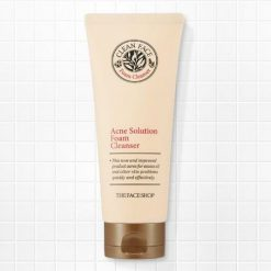 Sữa Rửa Mặt The Faceshop Clean Face Acne Solution Foam Cleansing