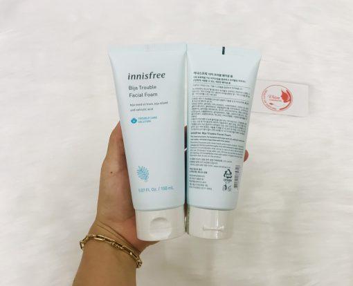 [New 2019] Sữa Rửa Mặt Innisfree Bija Trouble Facial Foam