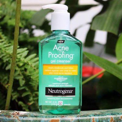 Sữa Rửa Mặt Trị Mụn Neutrogena Oil-free Acne Wash 177ml 6