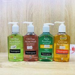 Sữa Rửa Mặt Trị Mụn Neutrogena Oil-free Acne Wash 177ml