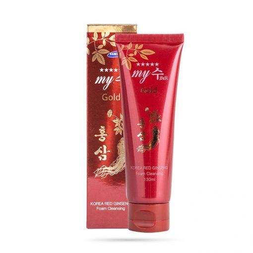 Sữa Rửa Mặt Hồng Sâm My Gold Korea Red Ginseng Foam Cleansing