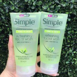 Sữa Rửa Mặt Simple Refreshing Facial Wash 150ml