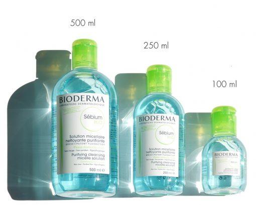 Tẩy trang Bioderma Sebium H2O ( Xanh Lá ) - Pháp 3