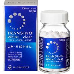 Viên Uống Trắng Da Transino White C Nhật Bản 120 Viên