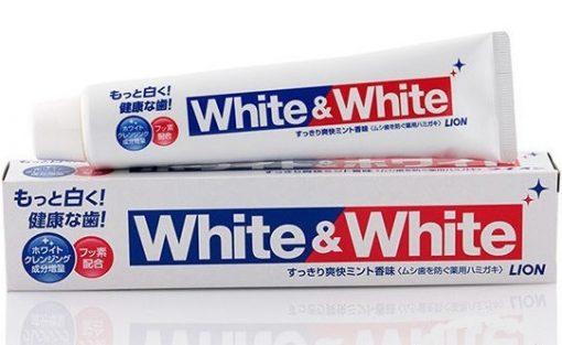 Kem Đánh Răng White And White Lion 150g Của Nhật 3
