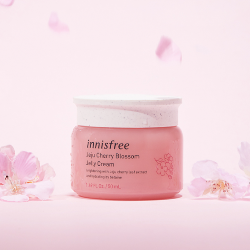 Kem Dưỡng Ẩm Innisfree Jeju Cherry Blossom Jelly Cream 50ml 3