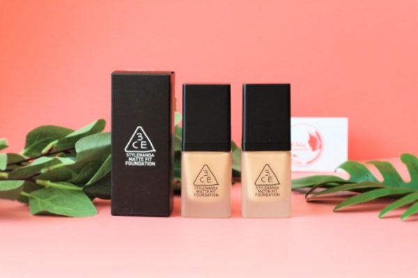Kem Nền 3CE Stylenanda Matte Fit Foundation (35g) 2