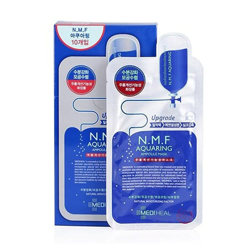 Mặt Nạ Dưỡng Ẩm Da Mediheal N.M.F Aquaring Ampoule Mask 3