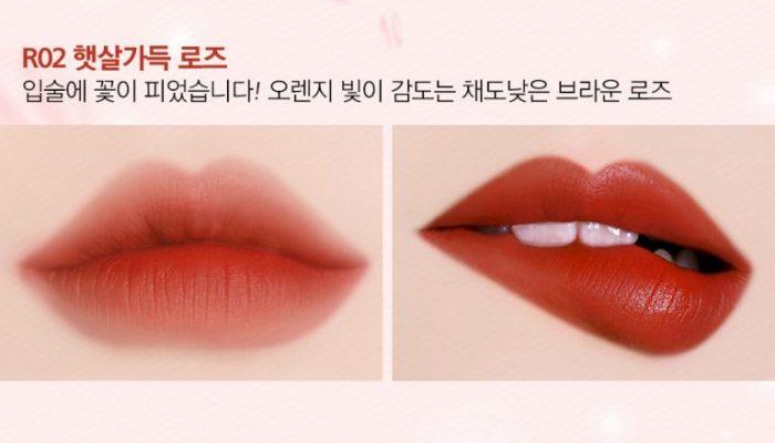 black rouge rose velvet lipstick 2