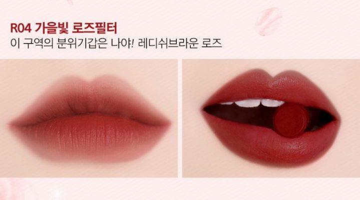 black rouge rose velvet lipstick r4