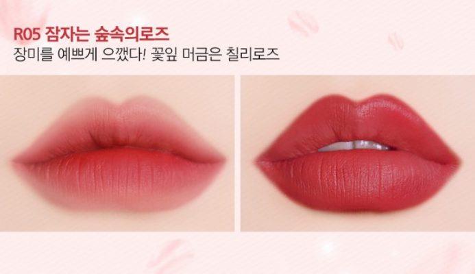 black rouge rose velvet lipstick 5