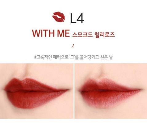 Son Thỏi Lì Merzy The First Lipstick L1 - L8 7