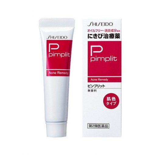 Kem Hỗ Trợ Cải Thiện Mụn Shiseido Pimplit Nhật Bản 3