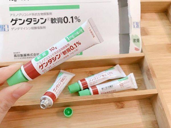Kết quả hình ảnh cho gentacin trị sẹo