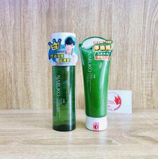 [Combo Tiết Kiệm] Sữa Rửa Mặt Naruko 120gr + Nước Hoa Hồng Naruko 150ml 3