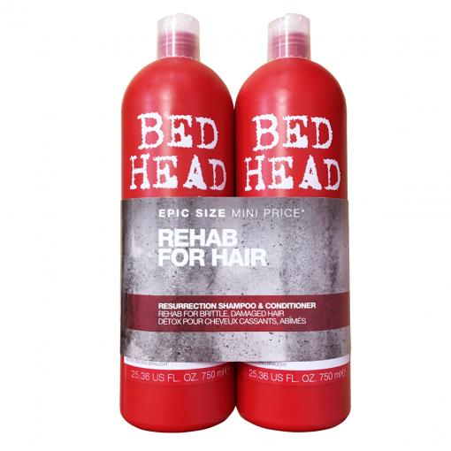 Bộ Dầu Gội Xả Tigi Bed Head 750ml - Màu Đỏ 2