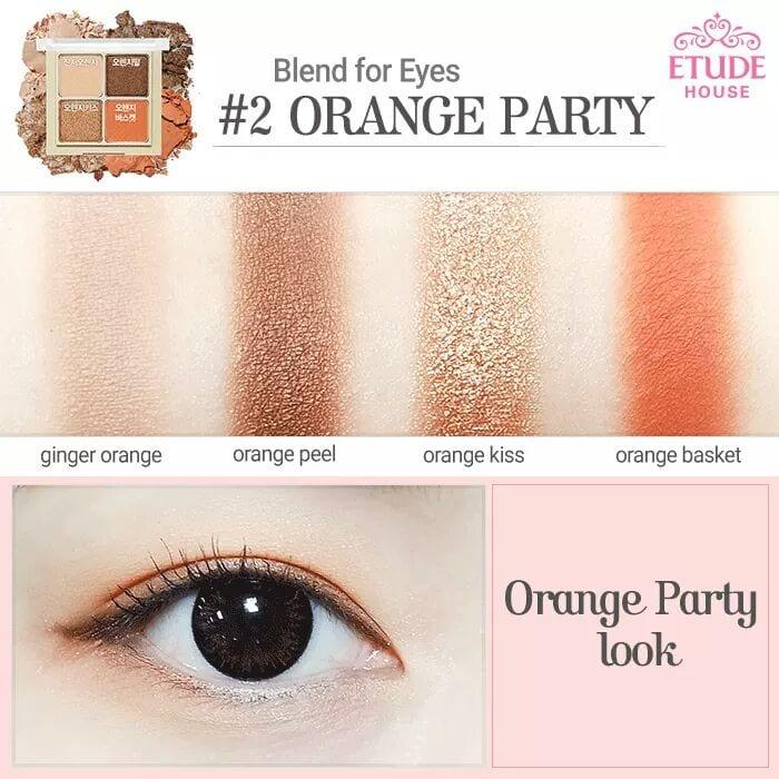 Phấn Mắt Etude Blend For Eyes 4 Ô 5