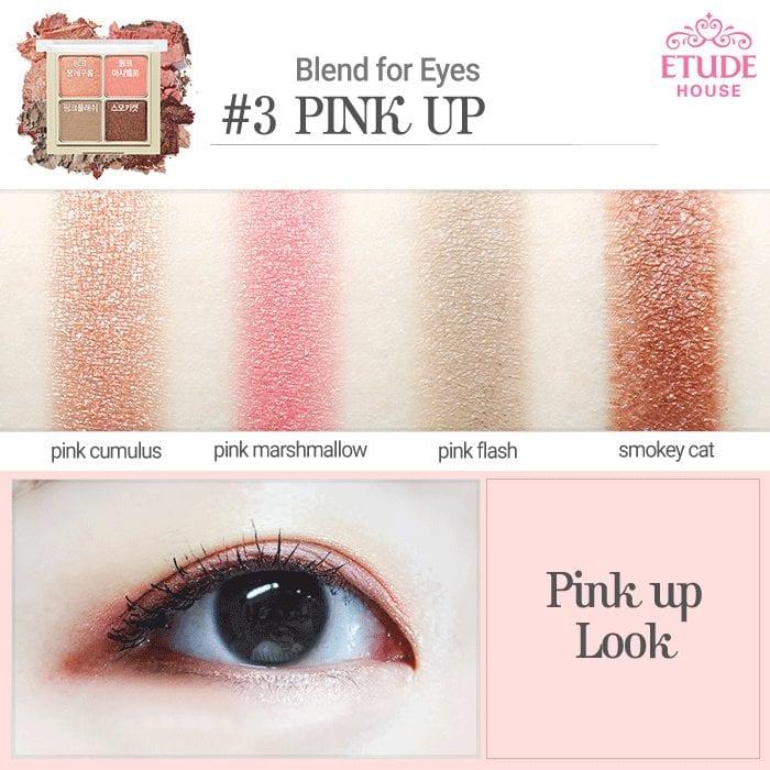 Phấn Mắt Etude Blend For Eyes 4 Ô 6