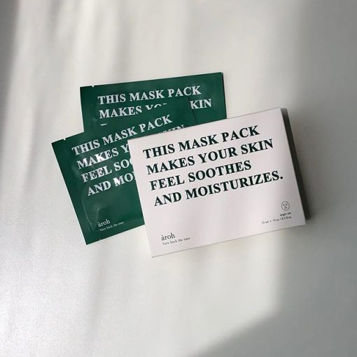 Mặt Nạ Aroh All In One Solution Mask Pack Turn Back The Time 3