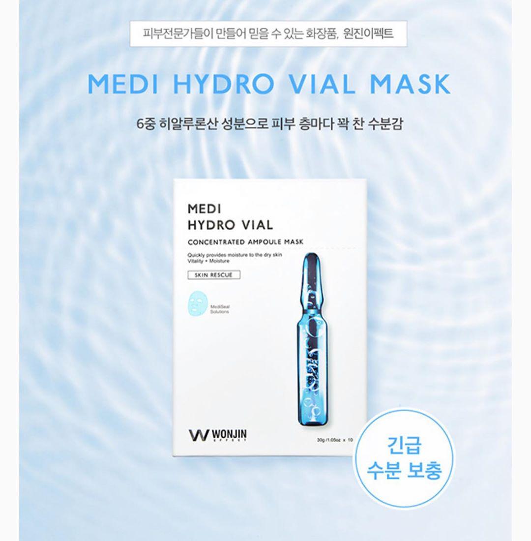 Mặt Nạ Cho Da Nhạy Cảm Wonjin Effect Medi Hydro Vial Mask – MỸ PHẨM VÂN SHOP