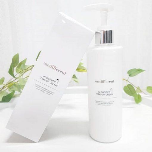 Sữa Tắm Trắng Da Medifferent In Shower Tone Up Cream 3