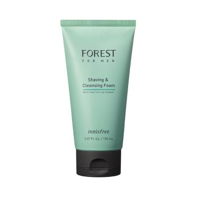 Sữa Rửa Mặt Kiêm Bọt Cạo Râu Dành Cho Nam Innisfree Forest For Men Shaving & Cleansing Foam 150ml 3