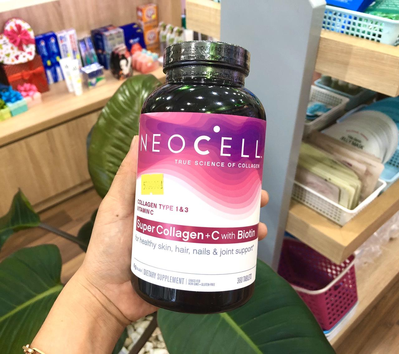 Viên Uống Đẹp Da Neocell Super Collagen + C Type 1&3 360 Viên – MỸ PHẨM VÂN  SHOP