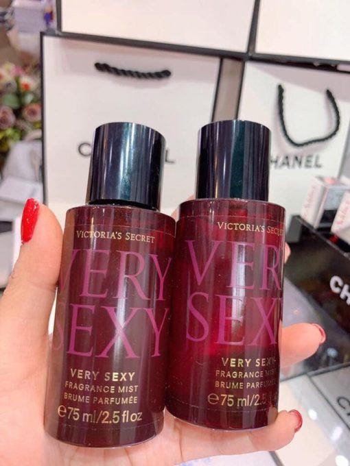 Xịt Thơm Body Victoria's Secret Very Sexy Fragrance Mist (75ml) 4