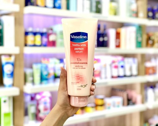 Dưỡng Thể Vaseline Healthy White Perfect Serum 10X 320ml 3