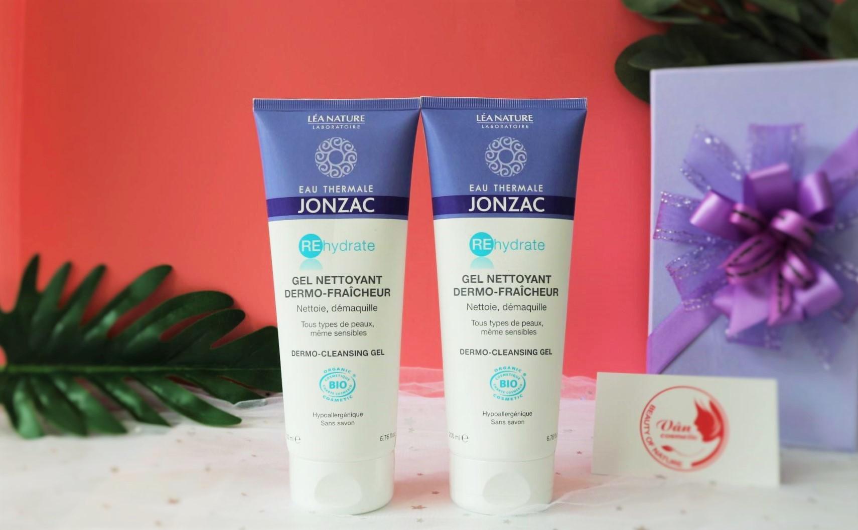 Gel Rửa Mặt Cấp Nước Eau Thermale Jonzac Rehydrate Dermo – Cleansing Gel