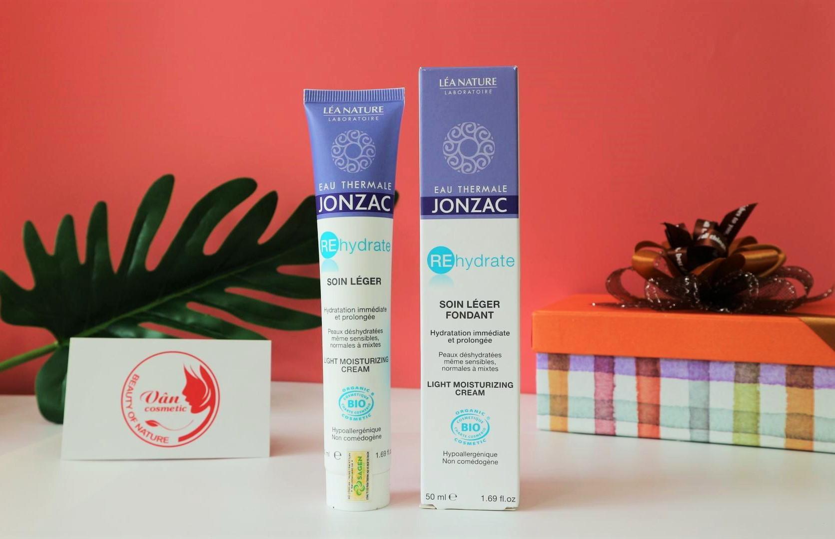 Kem Dưỡng Cấp Nước Eau Thermale Jonzac Rehydrate Light Moisturizing Cream