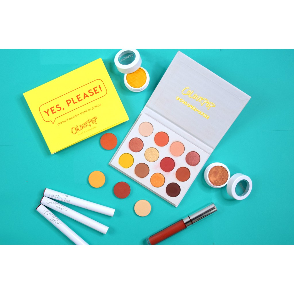 Bảng Phấn Mắt Eyeshadow Palette ColourPop Yes Please 1
