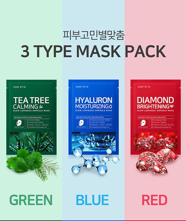 Mặt Nạ Dưỡng Da Some By Mi Glow Luminous Ampoule Mask 25gr 10
