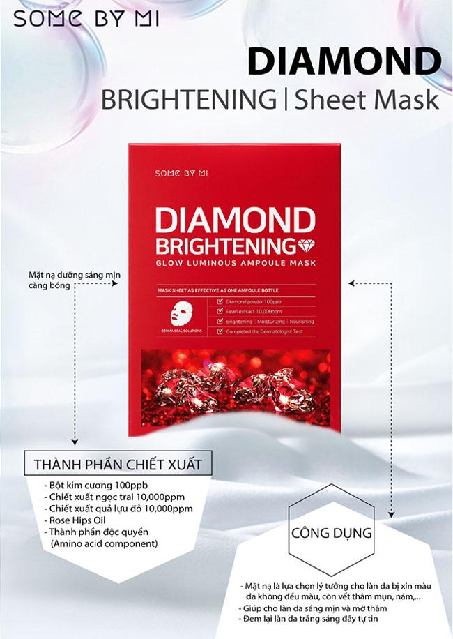 Mặt Nạ Dưỡng Da Some By Mi Glow Luminous Ampoule Mask 25gr 12