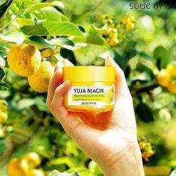 Mặt Nạ Ngủ Dưỡng Trắng Chiết Xuất Từ Trái Thanh Yên Some By Mi Yuja Niacin 30 Days Miracle Brightening Sleeping Mask 7