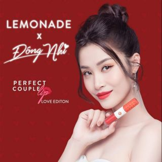 Son LEMONADE x Đông Nhi Perfect Couple Lip Love Collection 4