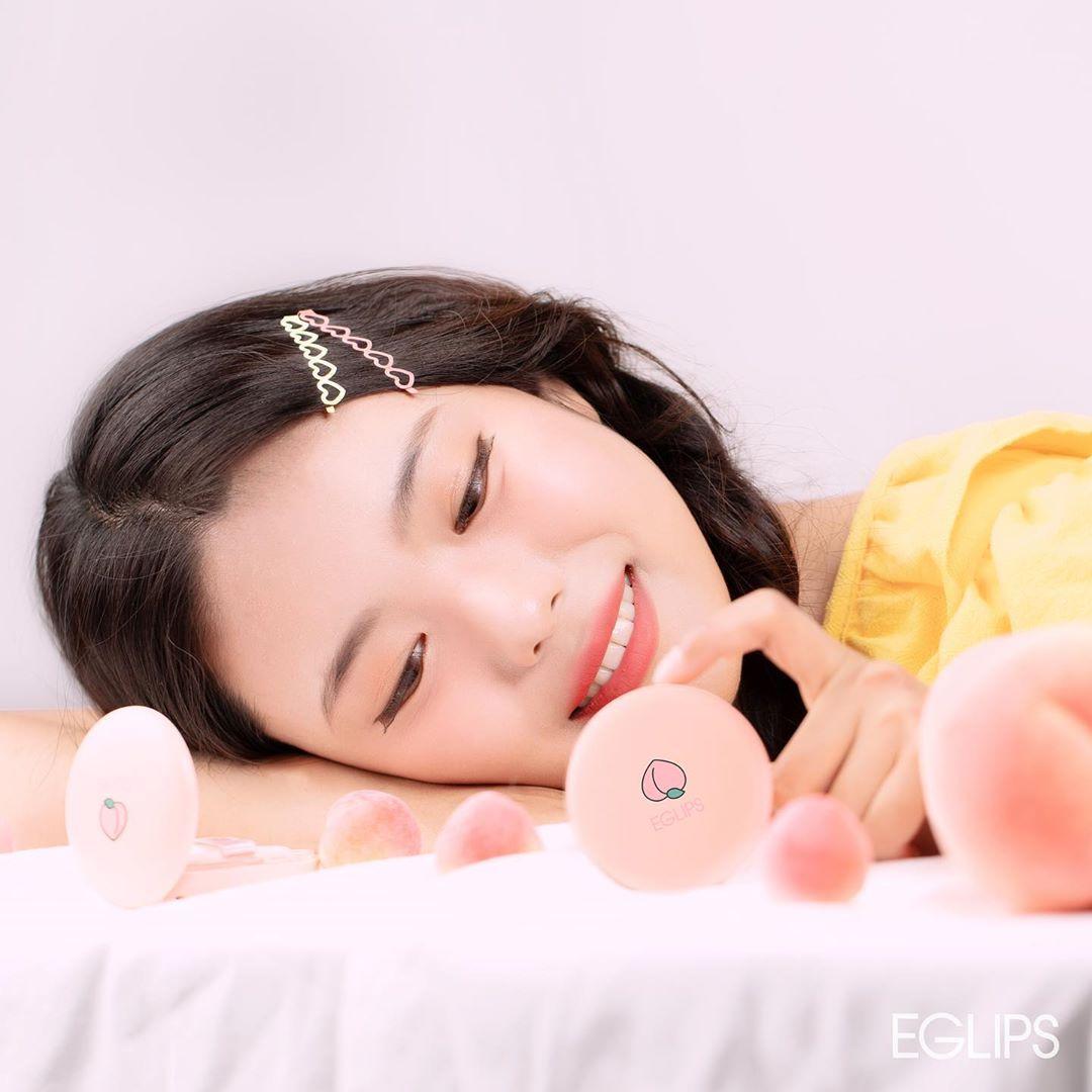 Phấn Phủ Eglips Hey Peach Blur Powder Pact Limited Edition (9g) 13