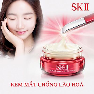 Kem Dưỡng Da Trị Thâm Vùng Mắt Mini SK-II R.N.A Power Eye Cream Radical New Age 2.5g 5