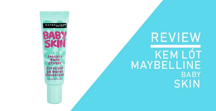 Kem Lót Kiềm Dầu Che Lỗ Chân Lông Maybelline Pore Eraser Baby Skin Primer 4