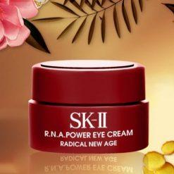 Kem Dưỡng Da Trị Thâm Vùng Mắt Mini SK-II R.N.A Power Eye Cream Radical New Age 2.5g 6