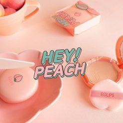 Phấn Phủ Eglips Hey Peach Blur Powder Pact Limited Edition (9g) 6