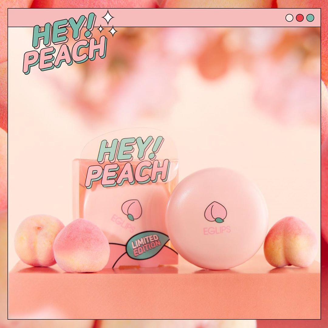 Phấn Phủ Eglips Hey Peach Blur Powder Pact Limited Edition (9g) 9